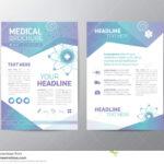 Medical Brochure – Leaflet Stock Vector. Illustration Of Throughout Healthcare Brochure Templates Free Download