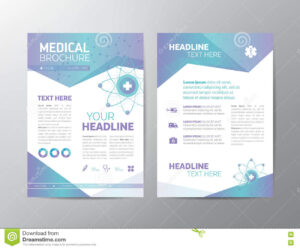 Medical Brochure – Leaflet Stock Vector. Illustration Of throughout Healthcare Brochure Templates Free Download