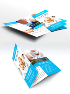 Medical Care And Hospital Trifold Brochure Template Free Psd in Pharmacy Brochure Template Free