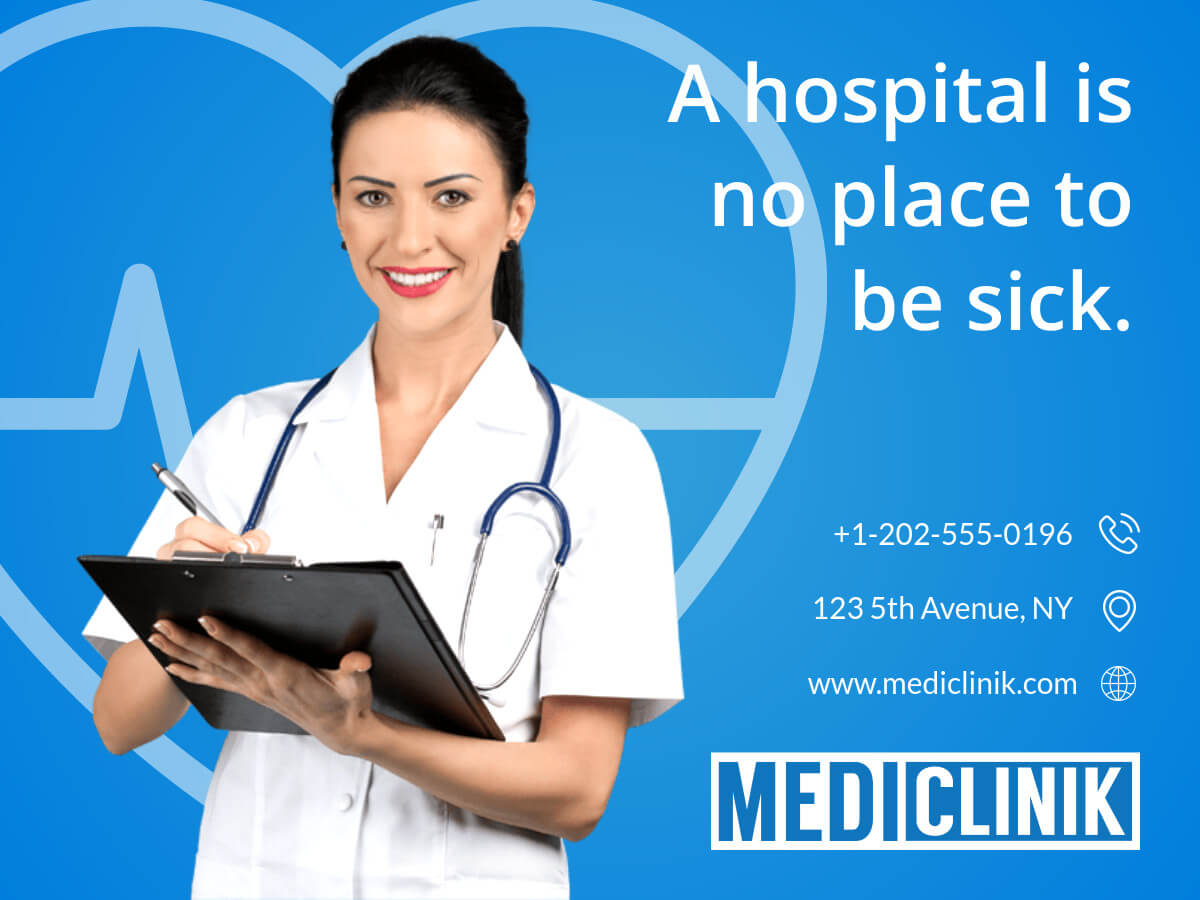 Medical Care Clinic Banner Template Intended For Medical Banner Template