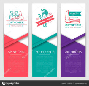 Medical Diagnostic Clinic Banner Template Design — Stock with regard to Medical Banner Template