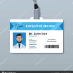 Medical Id Card Template | Doctor Id Card Template. Medical Inside Personal Identification Card Template