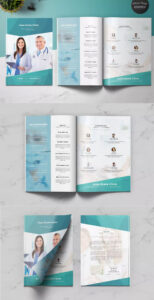 Medical Multipurpose Brochure Template Indesign Indd – A4 + within Letter Size Brochure Template
