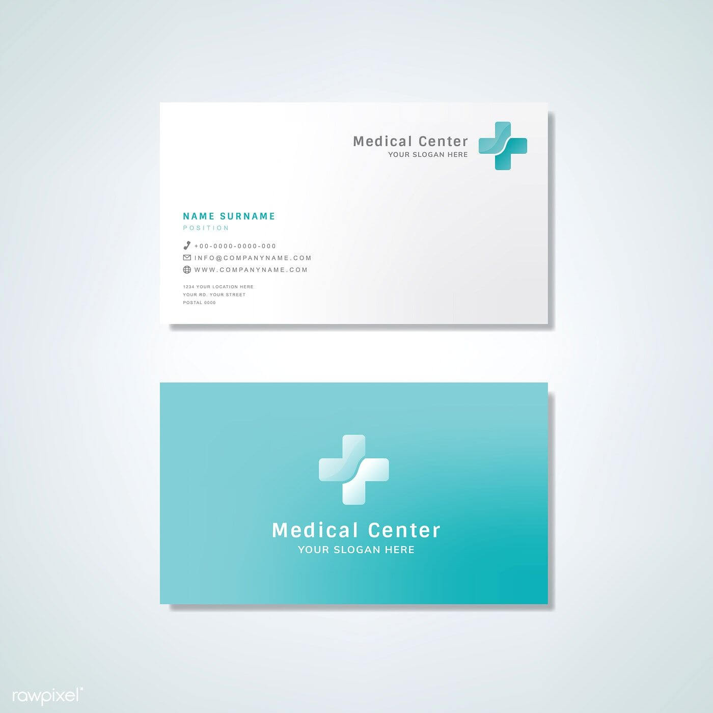 Medical Professional Business Card Design Mockup | Free Inside Medical Business Cards Templates Free