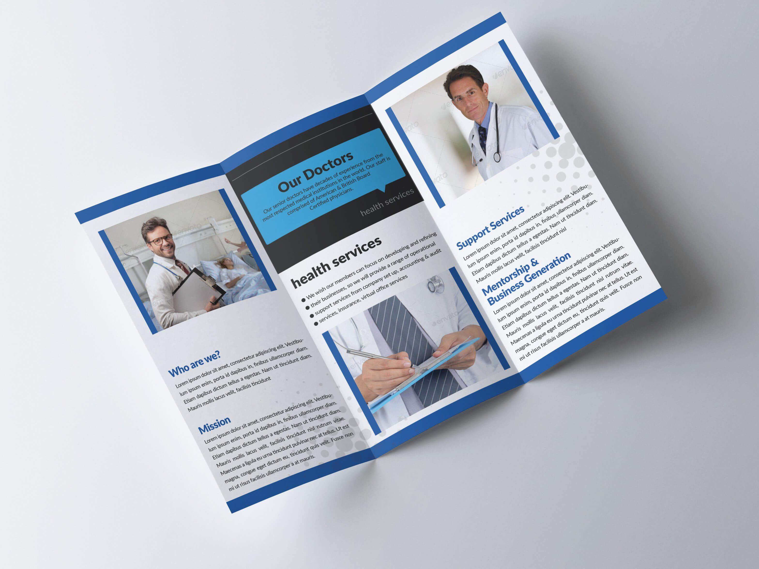 Medical Trifold Brochure #ad , #ad, #print#ready#dpi#medical Regarding Medical Office Brochure Templates