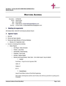 Meeting Agenda And Format Sample Template Word Examples Doc regarding Free Meeting Agenda Templates For Word