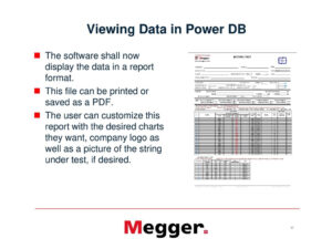Megger Test Form Pdf with regard to Megger Test Report Template
