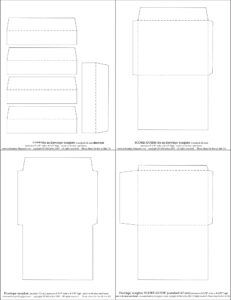 Mel Stampz: New Envelope Templates (Standard A2 Size) Two regarding A2 Card Template