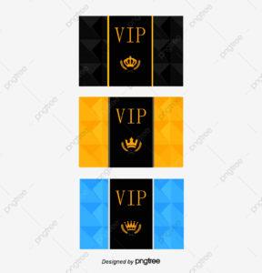 Membership Card Template Vector, Membership Card, Vip Card with Pvc Card Template