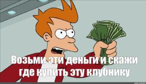 """Meme: """"shut Up And Take My Money Mem, Take My Money, Fry for Shut Up And Take My Money Card Template"""