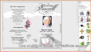 Memorial Cards Officeworks – Mallerstang within Memorial Cards For Funeral Template Free