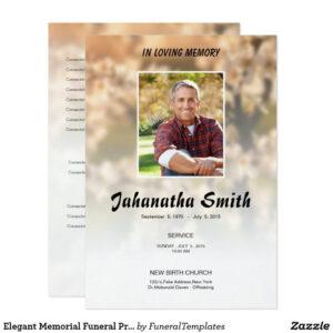 Memorialard Template Templates For Funeral Free Download with Memorial Card Template Word