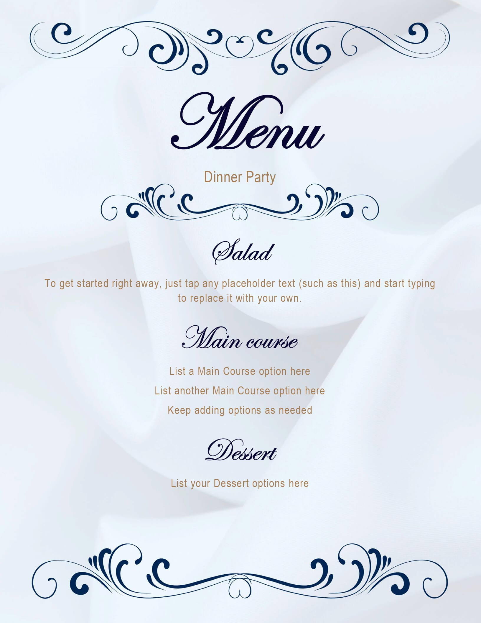 Menus - Office Throughout Free Cafe Menu Templates For Word