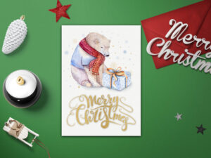 Merry Christmas Card Template – Diy Christmas Card Templates – Xmas Card  Template – Printable Merry Christmas Card – Diy Xmas Card Template Pertaining To Diy Christmas Card Templates