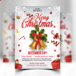 Merry Christmas Flyer Free Psd – Psd Zone For Christmas Brochure Templates Free