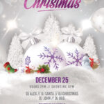 Merry Christmas & Holiday Free Psd Flyer Template | Free Psd Pertaining To Christmas Brochure Templates Free