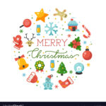 Merry Christmas Round Banner Template With Within Merry Christmas Banner Template