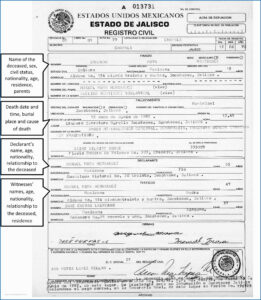 Mexican Birth Certificate Template Awe-Inspiring 10 Best Of for Mexican Marriage Certificate Translation Template