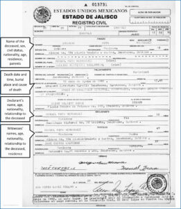 Mexican Birth Certificate Template Awful Mexican Birth intended for Mexican Birth Certificate Translation Template