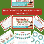Mexican Wedding Cookies Intended For Cookie Exchange Recipe Card Template