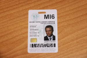 Mi6 Id Card Related Keywords & Suggestions – Mi6 Id Card throughout Mi6 Id Card Template