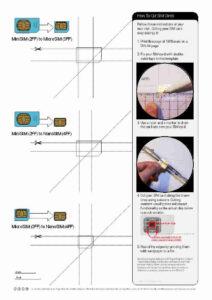 Micro Sim To Nano – Hizir.kaptanband.co inside Sim Card Cutter Template