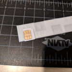Micro To Nano Sim Card Cutter Jig Templateiroxor For Sim Card Cutter Template