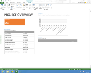 Microsoft Project Professional 2013 New Features Preview within Ms Project 2013 Report Templates
