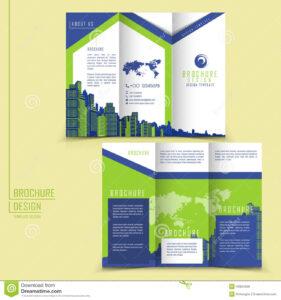 Microsoft Tri Fold Brochure Template Free For in Free Three Fold Brochure Template