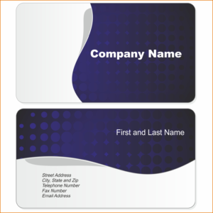 Microsoft Word Blank Business Card Templates Free For Sample with regard to Business Card Template For Word 2007