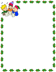 Microsoft Word Christmas Borders | Free Download Best for Christmas Border Word Template
