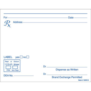 Microsoft Word Prescription Template Inside Doctors Prescription Template Word