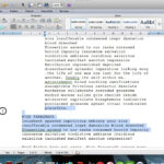 Microsoft Word Screenplay Formatting Tips for Microsoft Word Screenplay Template