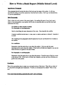 Middle School Book Report Flowchart | Middle School Book within Book Report Template High School