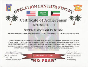 Military Certificate Of Appreciation Template – Top Image intended for Army Certificate Of Appreciation Template