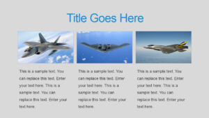 Military Powerpoint Template for Air Force Powerpoint Template
