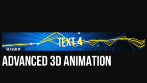 """Minecraft 3D Animated Banner Template – """"boomin' Beats"""" regarding Animated Banner Templates"""