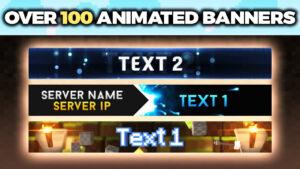 Minecraft Server Banner Maker (130 Templates!) ⛏️ regarding Minecraft Server Banner Template