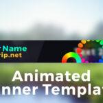 "Minecraft Server Banner Template (Gif) – ""colorpop"" Intended For Minecraft Server Banner Template"