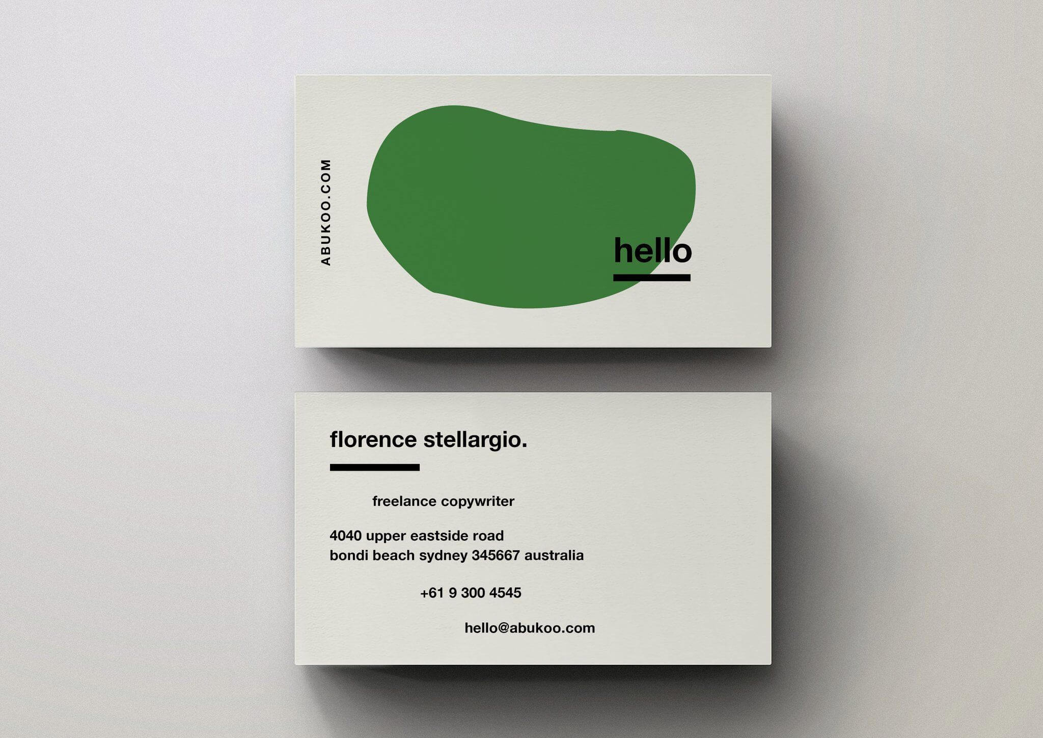 Minimal Business Cards   Best Business Cards   Business Card With Freelance Business Card Template
