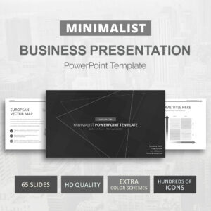 Minimalist Powerpoint Template with regard to Save The Date Powerpoint Template