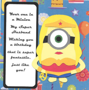 Minion Birthday Card Template A Diy Verses Envelopes With pertaining to Minion Card Template