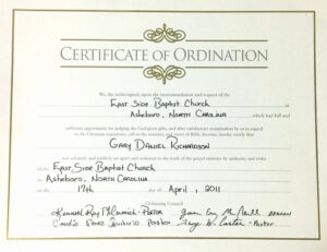 Minister License Certificate Template | Template Modern Design regarding Ordination Certificate Templates