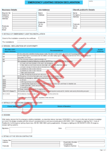 Minor Electrical Installation Works Certificate Template inside Electrical Minor Works Certificate Template