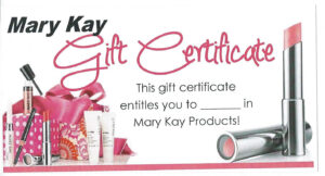 Mk Gift Certificate … | My Mk In 2019… In Mary Kay Gift Certificate Template
