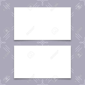 Mock-Up Business Card, Blank Business Card Templates With Soft.. within Plain Business Card Template