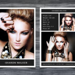 Model Comp Card Template In Free Model Comp Card Template Psd