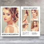 Modeling Comp Card | Fashion Model Comp Card Template For Free Model Comp Card Template Psd