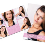 Modeling Comp Card | Model Agency Zed Card | Photoshop & Ms Word Template  |Modeling Card | Comp Card | Model Comp Card | Instant Download For Zed Card Template