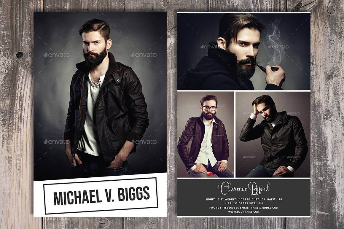 Modeling Comp Card Template, Fashion Model Comp Card Within Comp Card Template Download